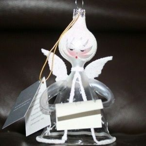 DE CARLINI ANGEL CHRISTMAS ORNAMENT MADE IN ITALY